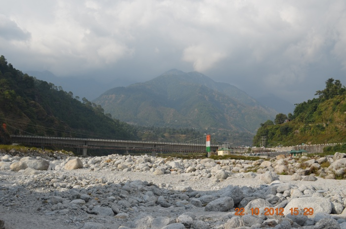 Bridge over Neugal river, near Saurabh Van Vihar, Palampur.