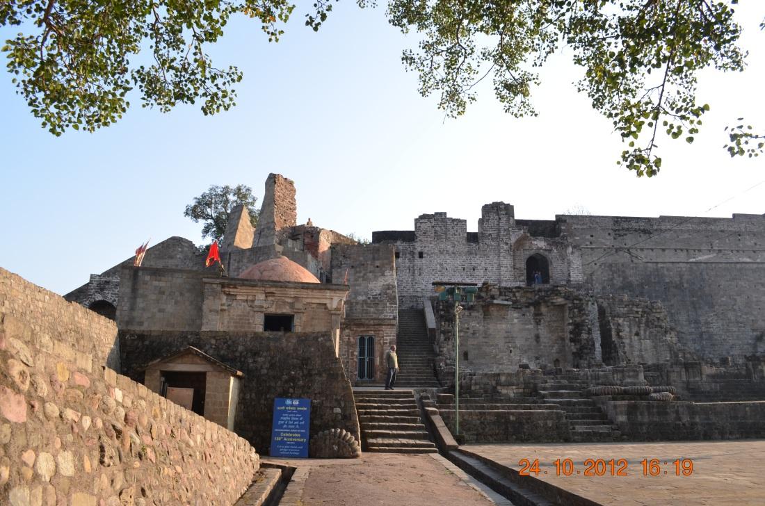 The oldest Ambika Devi temple, Kangda fort