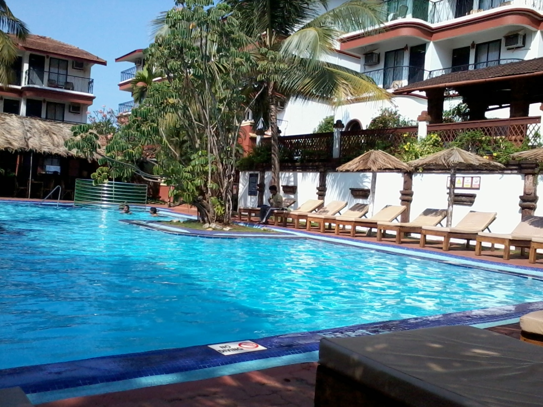 Sun village resort, Baga. The place where we stayed.