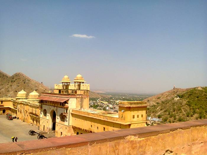 One of the outer entrances to Amer fort.