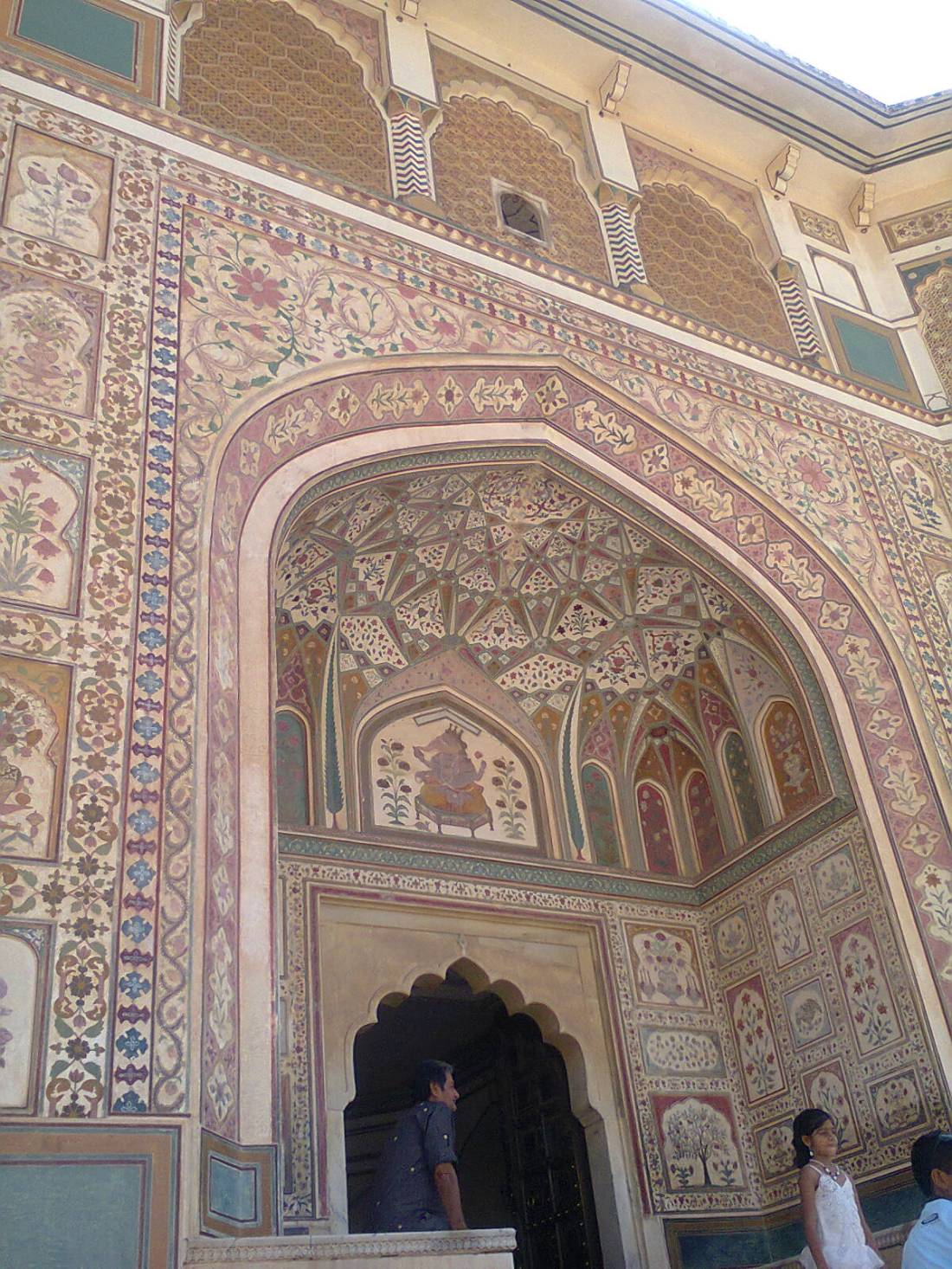 An entrance, Amer fort.
