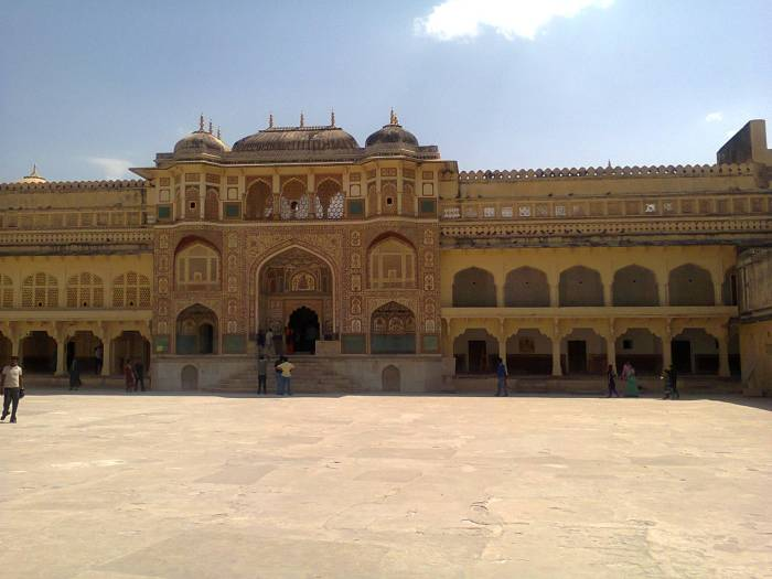 Inside Amer fort.