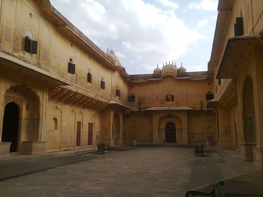 Inside Nahargadh fort.