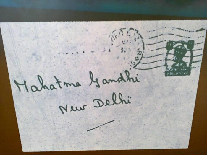 Mahatma Gandhi, New Delhi.