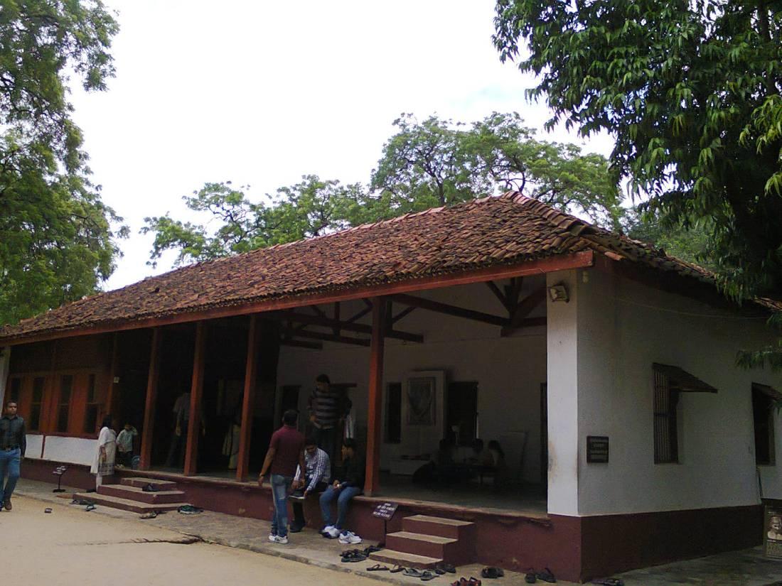 Gandhiji's home in Sabarmati Ashram.