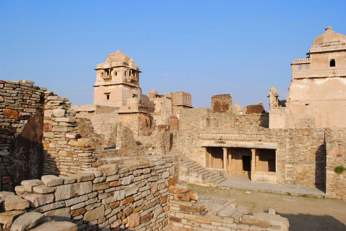 Another view of the buildings, King Kumbha's palace.