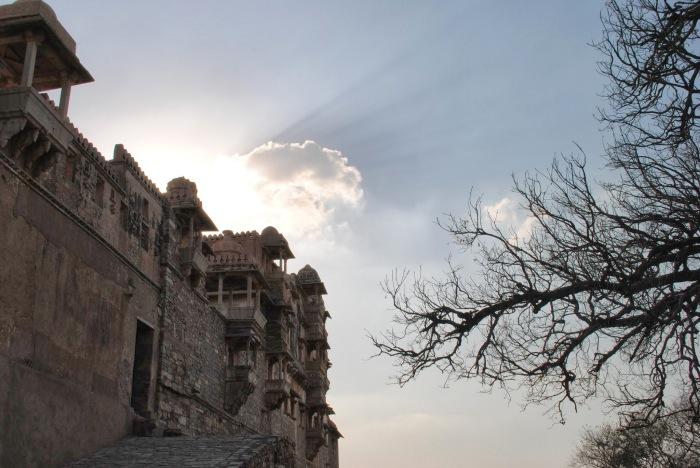 King Kumbha's palace complex entrance, Chittorgarh.