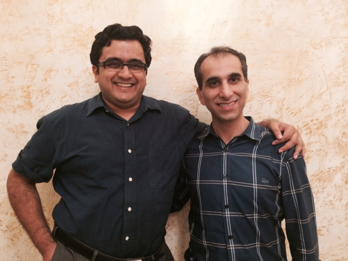 Shwetank and Rahul, founders of WalkOn.