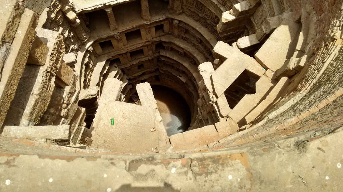 Stepwell from top