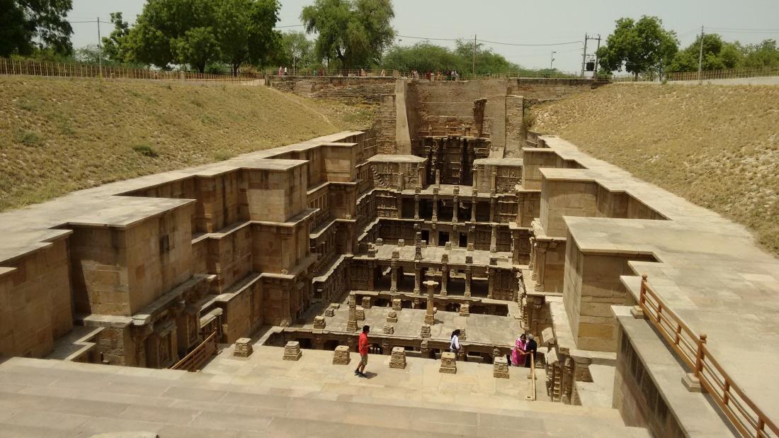 Rani ki Vav or queen's stepwell, Patan.