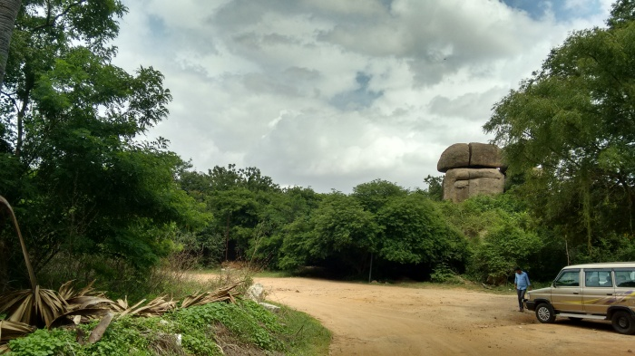 Rocks in Hyderabad